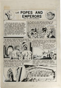 Original Comic Art:Complete Story, Joe Simon and Harley M. Griffiths - Picture Stories From World History #2, Complete Story Original Art, Group of 4 (EC, 1947).... (Total: 13 Items)