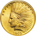 Indian Eagles, 1915-S $10 MS65 NGC....
