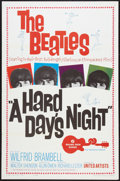 "Movie Posters:Rock and Roll, A Hard Day's Night (United Artists, 1964). One Sheet (27"" X 41"").Rock and Roll.. ..."