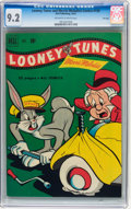 Golden Age (1938-1955):Cartoon Character, Looney Tunes and Merrie Melodies Comics #120 File Copy (Dell, 1951)CGC NM- 9.2 Off-white to white pages....