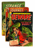 Golden Age (1938-1955):Horror, Miscellaneous Golden Age Pre-Code Horror Comics Group (VariousPublishers, 1951-54).... (Total: 6 Comic Books)