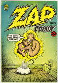 Silver Age (1956-1969):Alternative/Underground, Zap Comix #0 First Printing (Apex Novelties, 1967) Condition:VF....