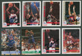 Basketball Collectibles:Others, 1970's-90's Basketball Stars Signed Cards Lot of 142....