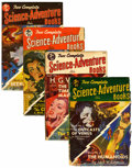 Pulps:Science Fiction, Two Complete Science-Adventure Books Group (Wings Publishing,1951-52) Condition: Average VG.... (Total: 4 Comic Books)