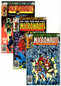 Modern Age (1980-Present):Science Fiction, Micronauts Plus Group (Marvel, 1979-2007) Condition: Average NM....(Total: 85 Comic Books)