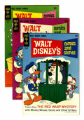 Silver Age (1956-1969):Cartoon Character, Walt Disney's Comics and Stories File Copy Group (Gold Key, 1967-80) Condition: Average VF+....