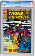Modern Age (1980-Present):Superhero, Transformers #80 (Marvel, 1991) CGC NM/MT 9.8 White pages....