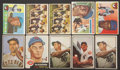 Baseball Cards:Lots, 1952 through 1961 Topps, Fleer and Bowman Collector GradeCollection (417 cards). ...