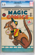 Golden Age (1938-1955):Funny Animal, Magic Comics #3 (David McKay Publications, 1939) CGC VG/FN 5.0Off-white pages....