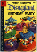Silver Age (1956-1969):Cartoon Character, Dell Giant Comics Disneyland Birthday Party #1 (Dell, 1958) Condition: VF....