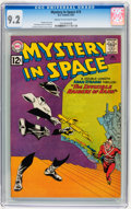 Silver Age (1956-1969):Science Fiction, Mystery in Space #73 (DC, 1962) CGC NM- 9.2 Cream to off-whitepages....