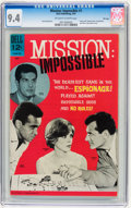 Silver Age (1956-1969):Adventure, Mission: Impossible #1 File Copy (Dell, 1967) CGC NM 9.4 Off-white to white pages....