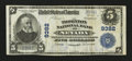 National Bank Notes:Missouri, Nevada, MO - $5 1902 Plain Back Fr. 600 The Thornton NB Ch. # 9382....