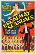 """Movie Posters:Musical, Broadway Scandals (Columbia, 1929). One Sheet (27"""" X 41"""") SoundStyle.. ..."""