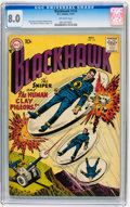Silver Age (1956-1969):Science Fiction, Blackhawk #118 (DC, 1957) CGC VF 8.0 Off-white pages....