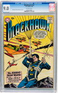 Silver Age (1956-1969):War, Blackhawk #122 (DC, 1958) CGC VF/NM 9.0 Off-white pages....