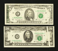Error Notes:Error Group Lots, A $20 Gutter and a $5 Offset Error Notes.. ... (Total: 2 notes)