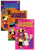 Bronze Age (1970-1979):Cartoon Character, Underdog File Copy Group (Gold Key, 1976-79) Condition: AverageVF+.... (Total: 18 Comic Books)