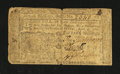 Colonial Notes:New Jersey, New Jersey April 12, 1760 15s Fine....