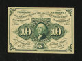 Fractional Currency:First Issue, Fr. 1242 10¢ First Issue Choice About New....