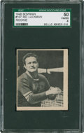 Football Cards:Singles (Pre-1950), 1948 Bowman Sid Luckman RC #107 SGC 50 VG/EX 4. ...