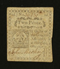 Colonial Notes:Connecticut, Connecticut October 11, 1777 2d Very Fine....