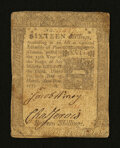 Colonial Notes:Pennsylvania, Pennsylvania March 20, 1773 16s Fine....
