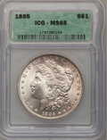 1885 $1 MS65 ICG. NGC Census: (8738/1636). PCGS Population (7493/1327). Mintage: 17,787,768. Numismedia Wsl. Price for p...