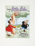 Original Comic Art:Covers, John Stanley Marge's Little Lulu #84 Cover Re-InterpretationOriginal Art (1992)....