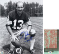Football Collectibles:Photos, Jake Scott Signed Photograph....