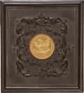 "Photography:Daguerreotypes, Sixth Plate Thermoplastic Photo Case: ""The Ten Dollar Gold Piece"" (Krainik #164, Berg 1-71)...."