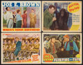 """Movie Posters:Comedy, Joe E. Brown Lot (MGM & Various, 1937-1938). Lobby Cards (4)(11"""" X 14""""). Comedy.. ... (Total: 4 Items)"""