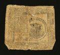 Colonial Notes:Continental Congress Issues, Continental Currency November 29, 1775 $1 Very Good....