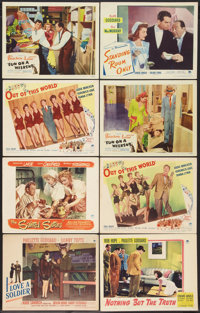 "Comedy Lot (Paramount & United Artists, 1941-1948). Lobby Cards (8) (11"" X 14""). Comedy. ... (Total: 8..."