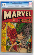 Golden Age (1938-1955):Superhero, Marvel Mystery Comics #9 Larson pedigree (Timely, 1940) CGC FN 6.0 Off-white pages....