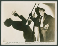 "Fredric March in ""Dr. Jekyll and Mr. Hyde"" (Paramount, 1933). Photo (8"" X 10""). Horror"