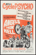 "Movie Posters:Exploitation, Angels from Hell Lot (American International, 1968). One Sheets (3)(27"" X 41""). Exploitation.. ... (Total: 3 Items)"