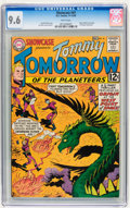 Silver Age (1956-1969):Science Fiction, Showcase #41 Tommy Tomorrow (DC, 1962) CGC NM+ 9.6 White pages....