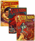 Pulps:Science Fiction, Astounding Stories 1931 Group (Clayton, 1931) Condition: AverageVG/FN.... (Total: 12 Items)
