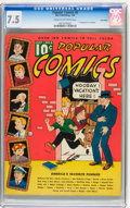 Platinum Age (1897-1937):Miscellaneous, Popular Comics #6 Lost Valley pedigree (Dell, 1936) CGC VF- 7.5 Cream to off-white pages....