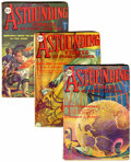 Pulps:Science Fiction, Astounding Stories Group (Street & Smith, 1930) Condition:Average VG/FN.... (Total: 6 Comic Books)
