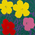 Prints, After ANDY WARHOL (American, 1928-1987). Flowers (Portfolio of 10 prints). Screenprint on museum board. 36 x 36 inches (... (Total: 10 Items)