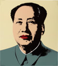 Prints, After ANDY WARHOL (American, 1928-1987). Mao (Portfolio of 5 prints). Screenprint on museum board. 33-1/2 x 29-1/2 inche...