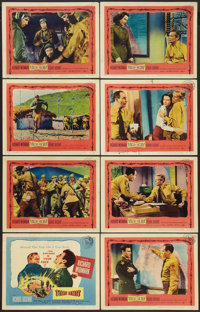 "Time Limit (United Artists, 1957). Lobby Card Set of 8 (11"" X 14""). Drama. ... (Total: 8 Items)"