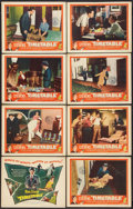 "Movie Posters:Crime, Timetable (United Artists, 1956). Lobby Card Set of 8 (11"" X 14"").Crime.. ... (Total: 8 Items)"