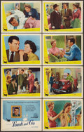 """Movie Posters:Comedy, Touch and Go (Universal International, 1956). Lobby Card Set of 8(11"""" X 14""""). Comedy.. ... (Total: 8 Items)"""