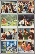 "Movie Posters:Drama, Two Are Guilty (Gaumont, 1963). International Lobby Card Set of 8 (11"" X 14""). Drama.. ... (Total: 8 Items)"