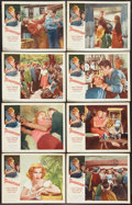 "Movie Posters:Drama, Thunderstorm (Allied Artists, 1956). Lobby Card Set of 8 (11"" X14""). Drama.. ... (Total: 8 Items)"