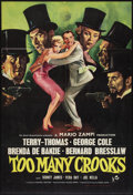 "Movie Posters:Comedy, Too Many Crooks (Rank, 1959). British One Sheet (27"" X 40"").Comedy.. ..."