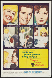 "Move Over, Darling (20th Century Fox, 1964). One Sheet (27"" X 41""). Comedy"